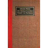 Die kategorienlehre Eduard von Hartmanns