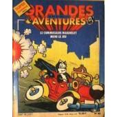 Grandes Aventures le Commissaire Maigrelet Mene le Jeu/комикс/