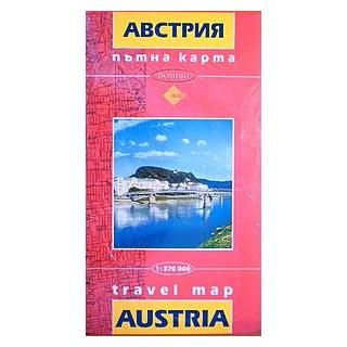 Ptna Karta Avstriya Austria Travel Map Kniga Onlajn Knizharnica