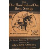 The one hundred and one Best Songs with piano accompaniments